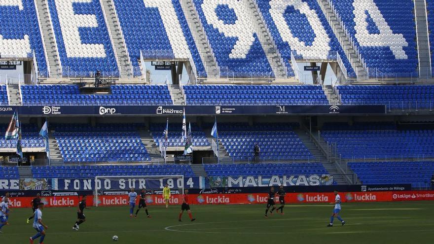 El Málaga CF suma 2.200 fieles en un día