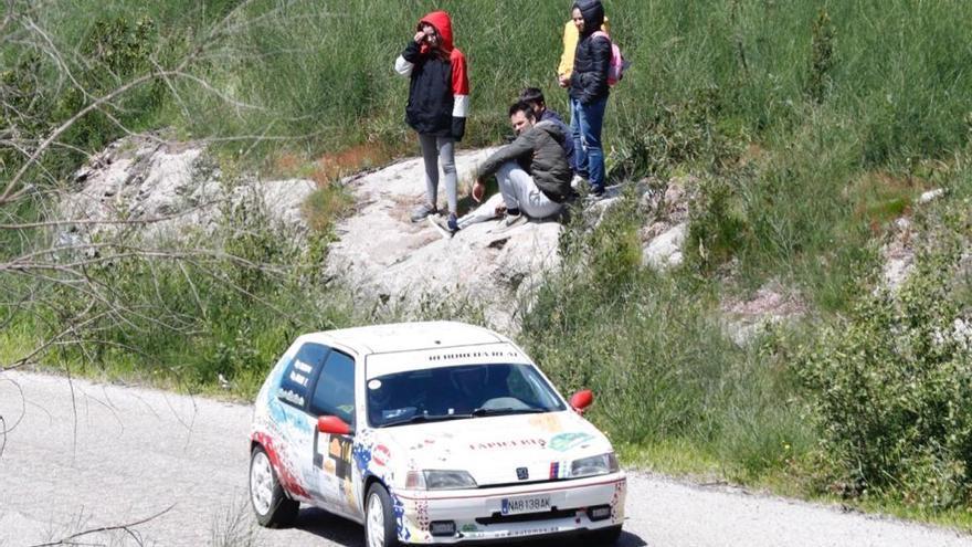 Víctor Senra entra en el olimpo del Rallye Rías Baixas