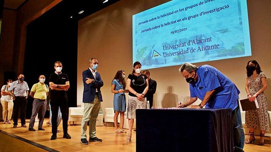 La Universidad de Alicante promueve un entorno feliz en sus grupos de trabajo
