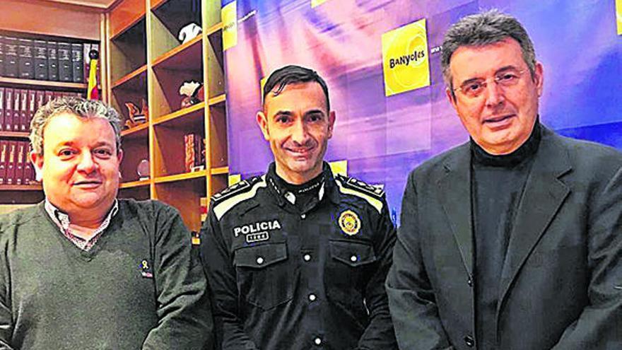 L'inspector Emili Garcia és el nou cap de policia de Banyoles