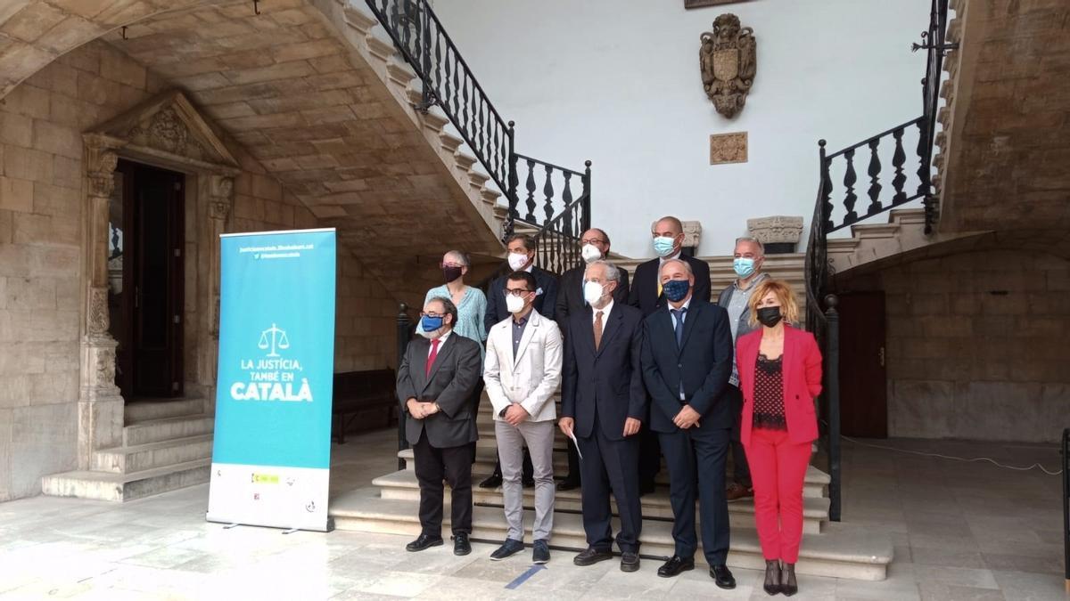 """Presentan una campaña para que el uso del catalán en la justicia """"no sea un acto heroico sino un acto de normalidad""""."""