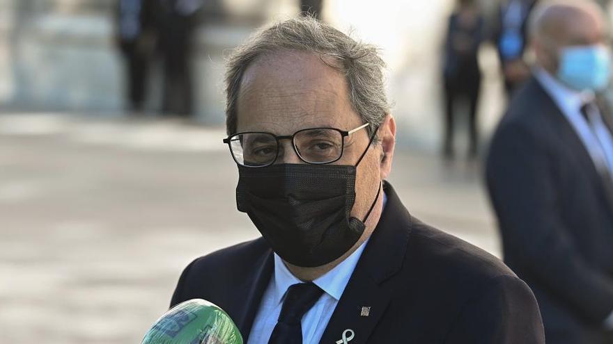 El TSJC cita a finales de mes a Torra por el segundo caso de desobediencia por los lazos