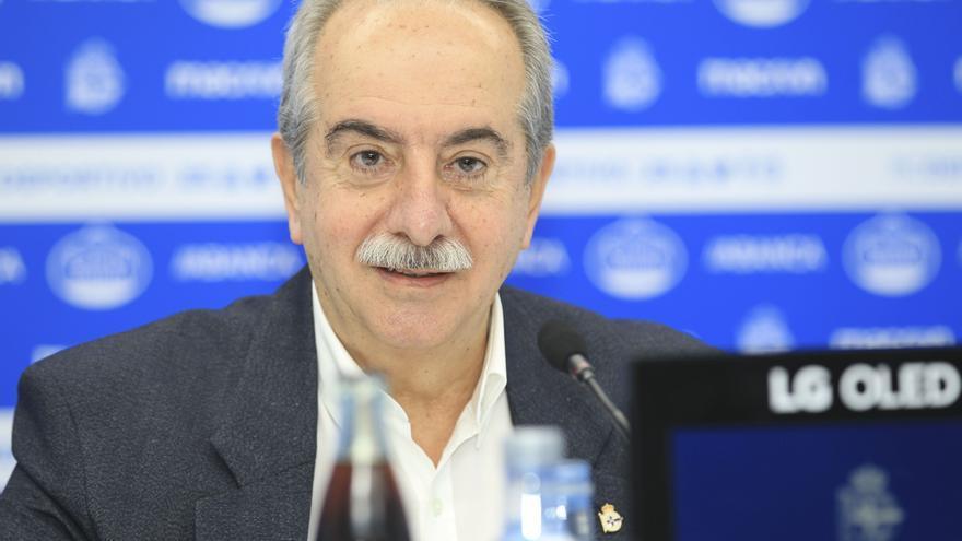 El ERE del Deportivo afectaría a un máximo de diez trabajadores, aunque el presidente espera alcanzar acuerdos