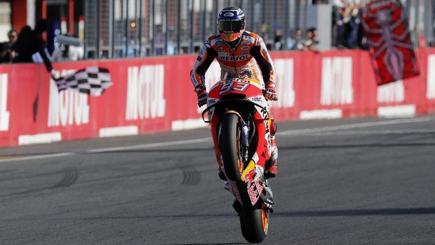 Marc Márquez, campió de MotoGP per cinquena vegada