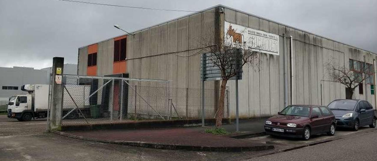 El matadero Macomusa, en el parque empresarial Porto do Molle. // N.P.