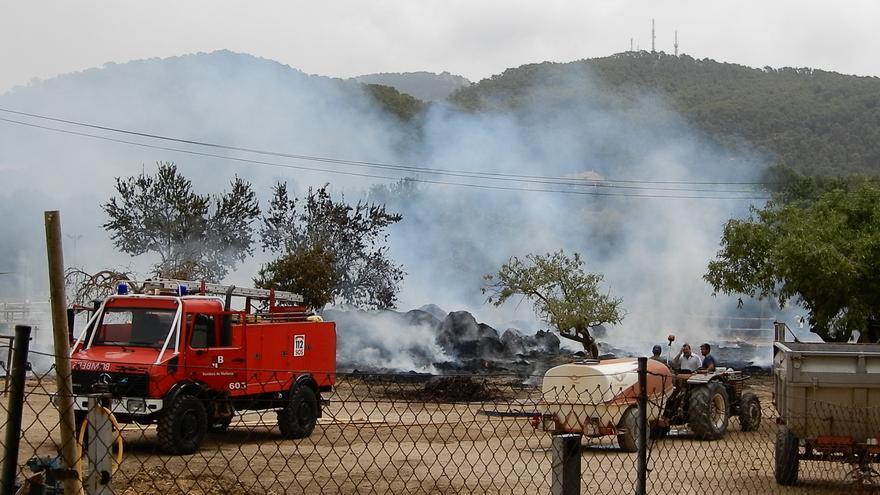 Brand auf Reiterhof bei Andratx rechtzeitig gelöscht