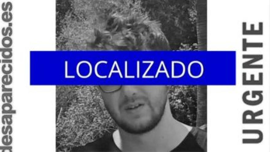 Localizan al joven de 25 años desaparecido en Palma