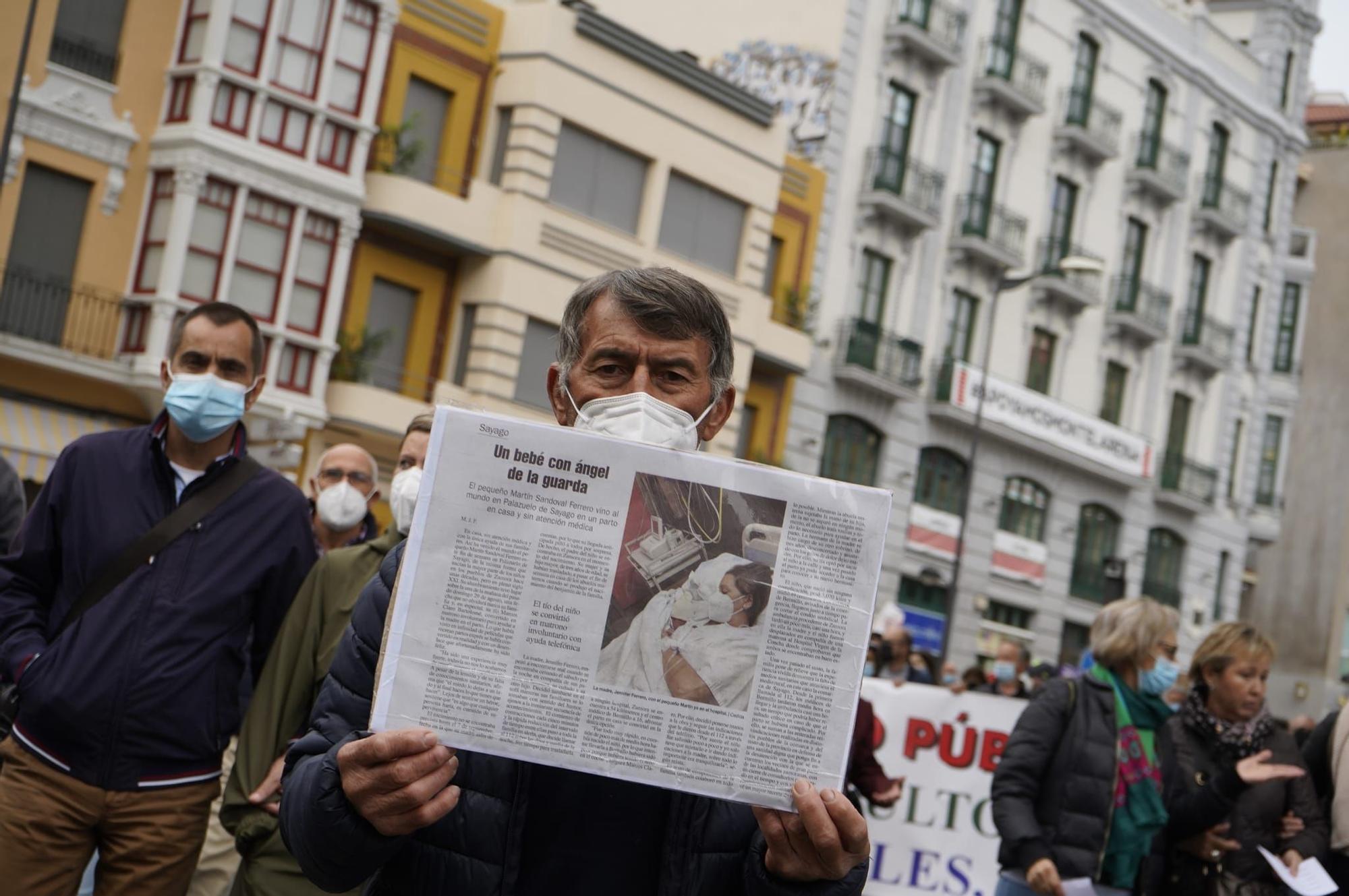 GALERÍA   La manifestación por una sanidad digna en Zamora, en imágenes