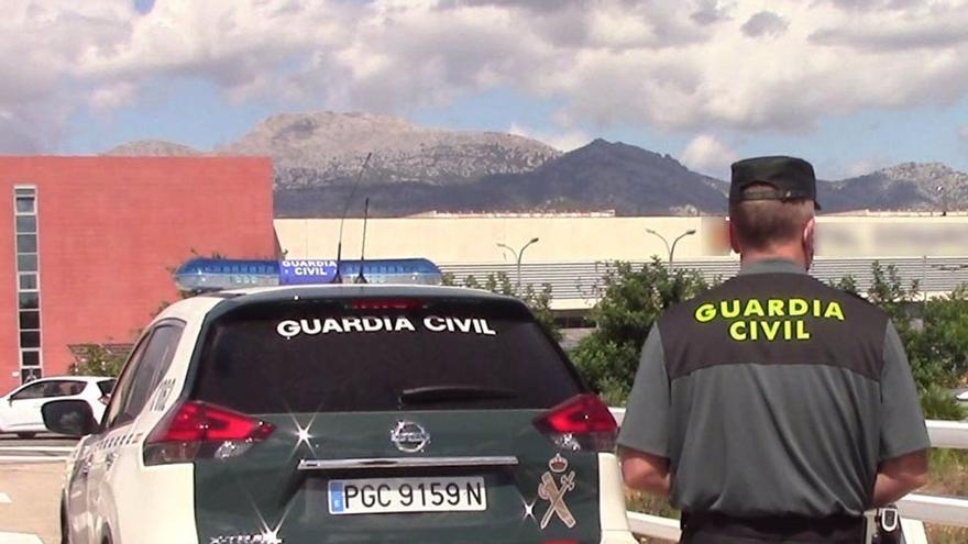 Detenido en Málaga por atar a su perro a una pérgola con la correa muy tensa como castigo