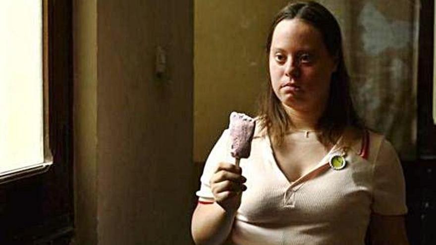 """Ana Fernández: """"Que personas con Down salgan en series es guay"""""""