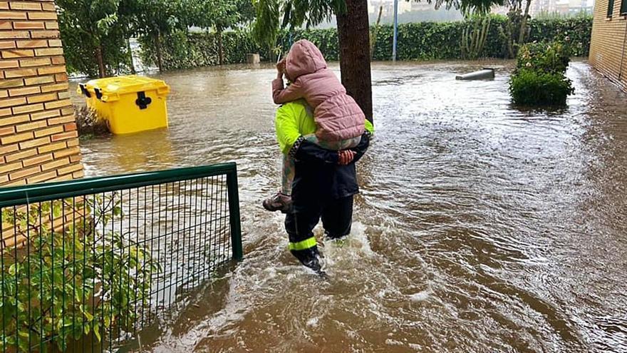 Las zonas bajas de Algemesí siguen muy expuestas a las inundaciones