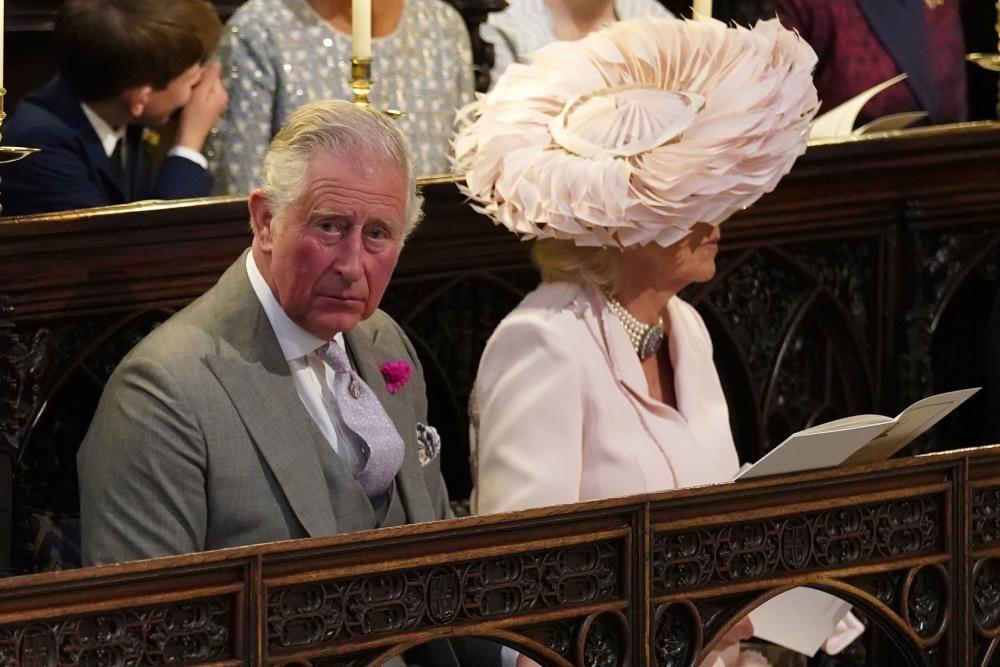El príncipe Carlos y Camila. / AFP PHOTO / POOL / Jonathan Brady