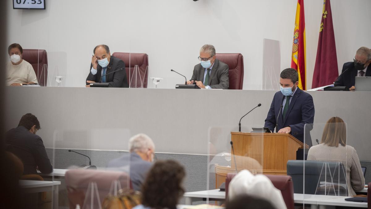 Intervención del consejero de Agua y Medio Ambiente, Antonio Luengo