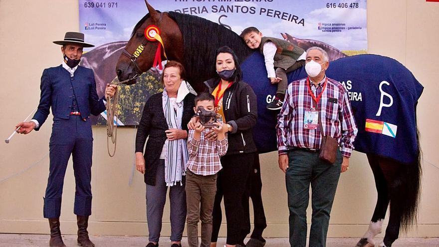 Tres caballos de Hípica Amazonas entre los diez mejores del mundo