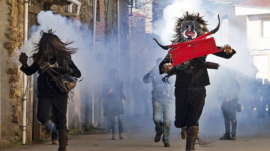 La Junta otorgará una protección especial a las mascaradas de Zamora