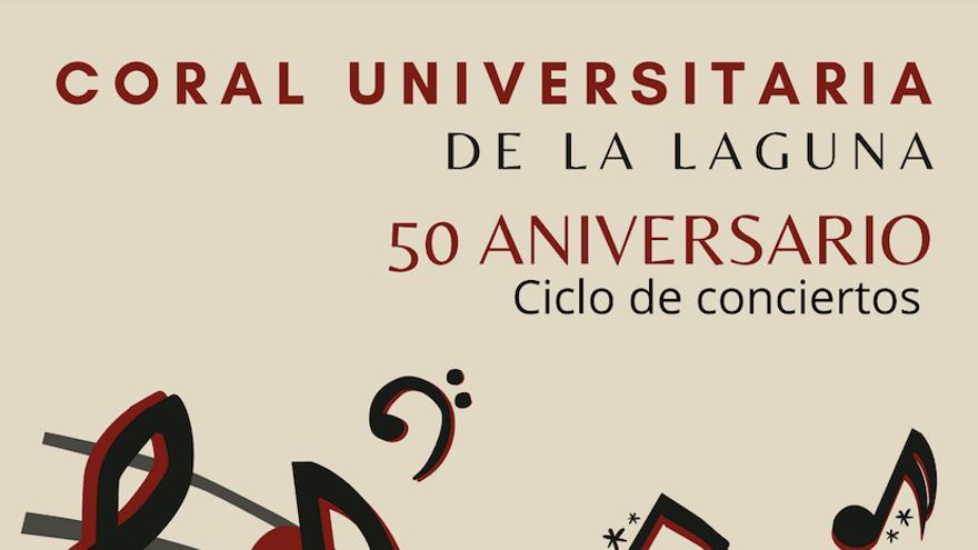 50 aniversario Coral Universitaria de La Laguna