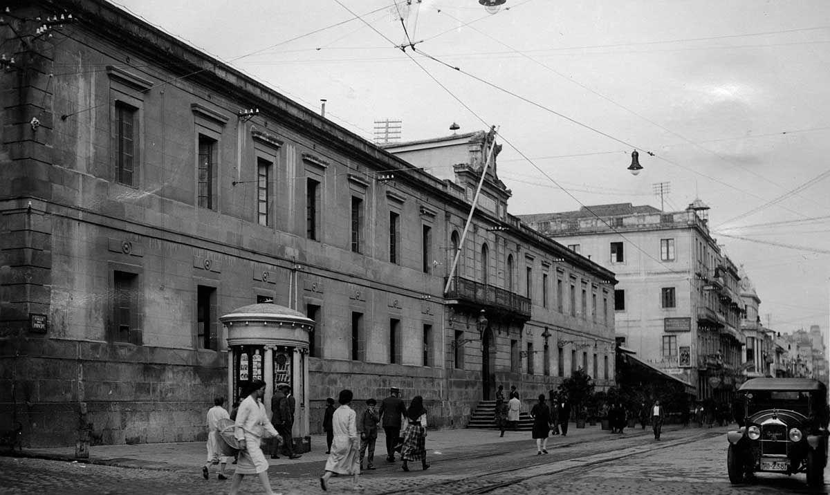 Palacio de Justicia de la calle Príncipe 1920 -1936
