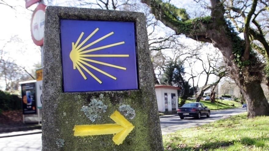 Junta y Ecoembes retoman la campaña de reciclaje en el Camino de Santiago