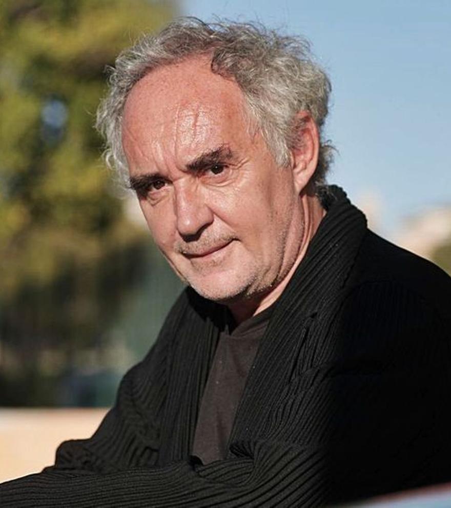 "Ferran Adrià: ""La cultura del esfuerzo no existe entre los jóvenes"""