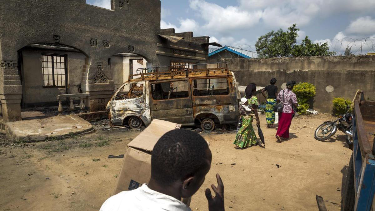 Una imagen de Beni, la zona donde el Congo ha confirmado un nuevo caso de ébola