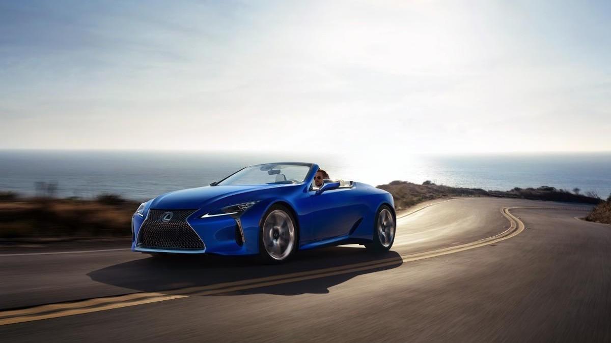 Lexus LC Cabrio, belleza al descubierto