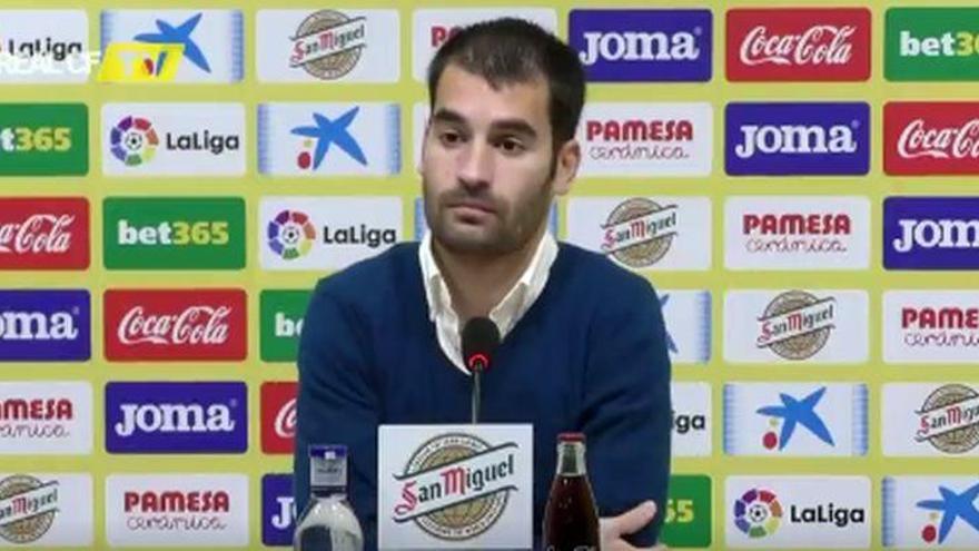 """Trigueros: """"Para el Villarreal, ganar al Valencia debe ser el punto de inflexión"""""""