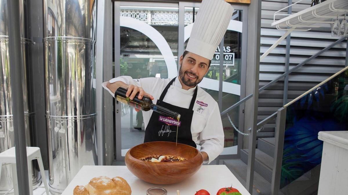El cocinero Juanjo Ruiz.