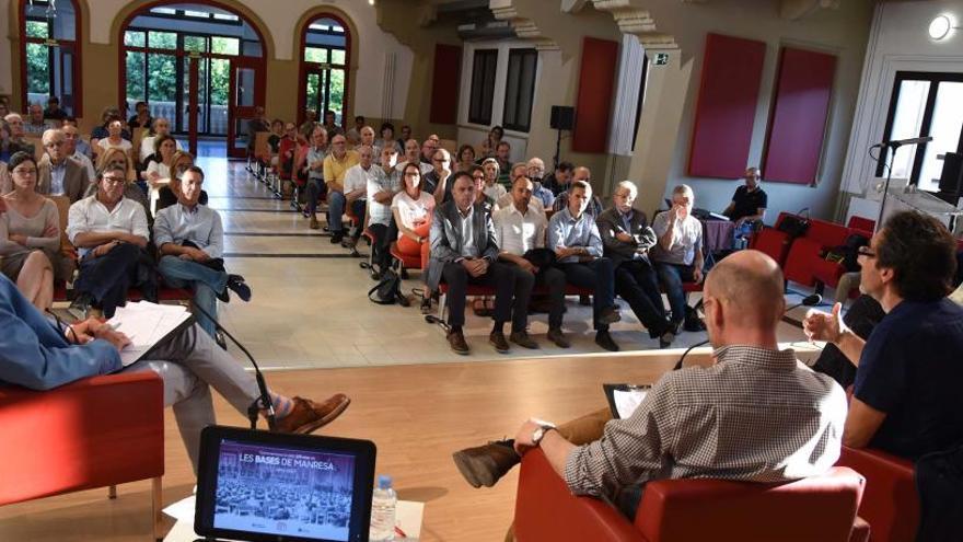 Un debat acadèmic sobre Les Bases de Manresa posa de relleu els paral·lelismes amb al procés actual