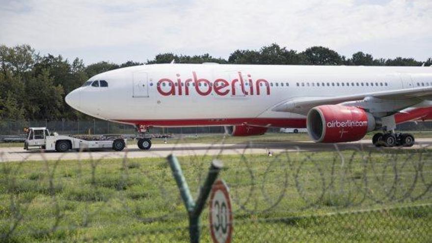Air Berlin es declara insolvent en deixar de rebre el suport d'Etihad