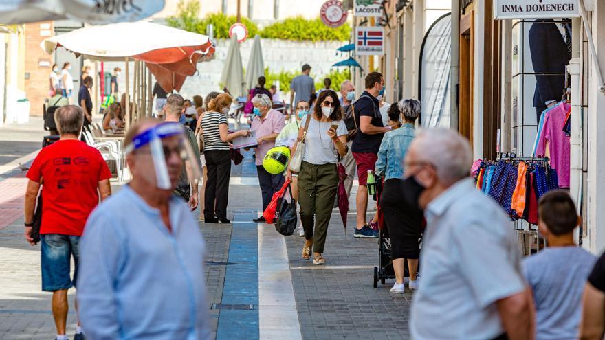 Alicante, Dénia y Elche, las localidades con mayor aumento de casos de covid en 14 días