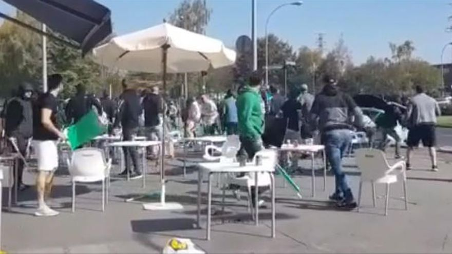 Lamentables imágenes de una pelea con varios heridos