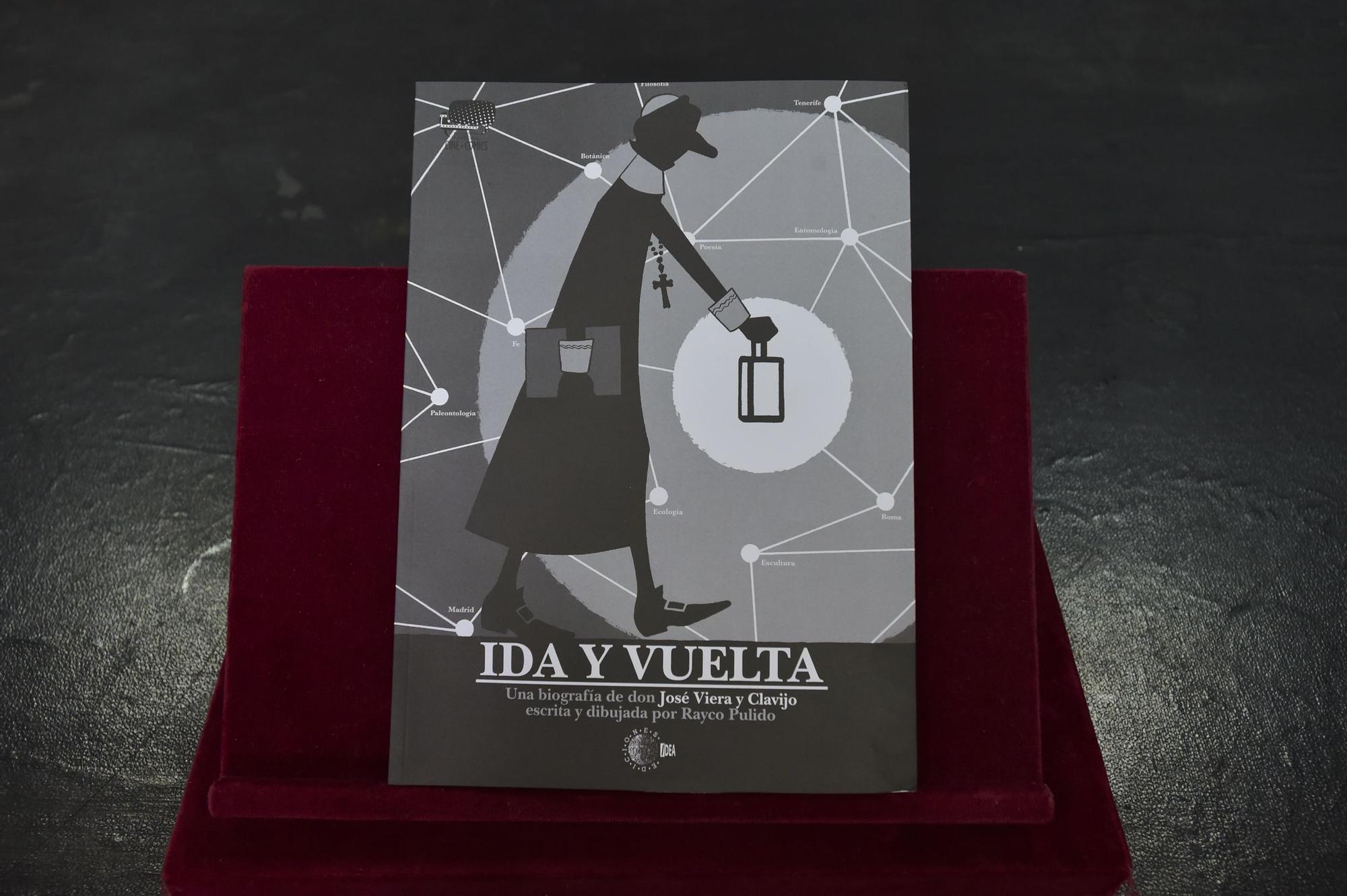 Presentación de un cómic sobre Viera y Clavijo