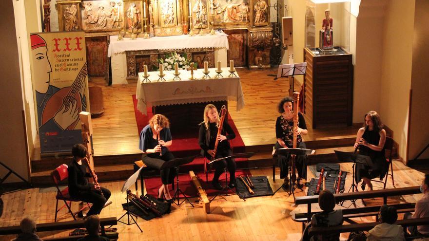 Las brillantes flautistas de Keyserlingk