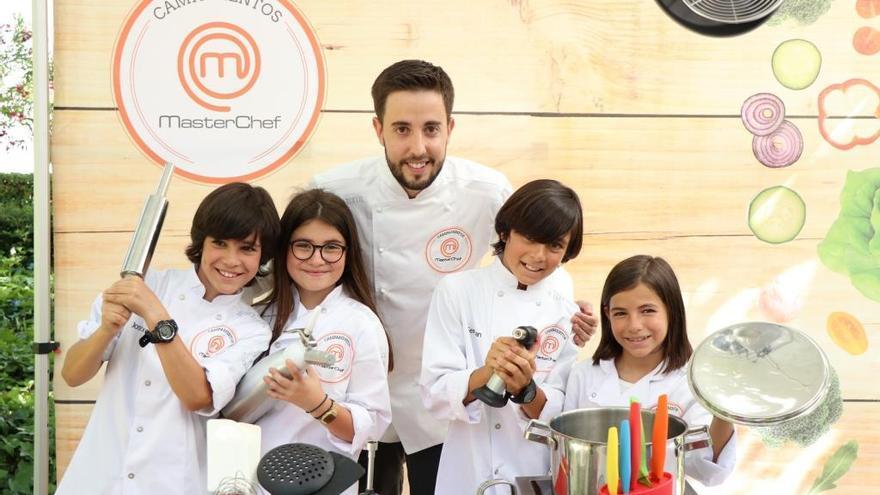 El cocinero zamorano Jonathan Garrote, de profesor en los campamentos MasterChef