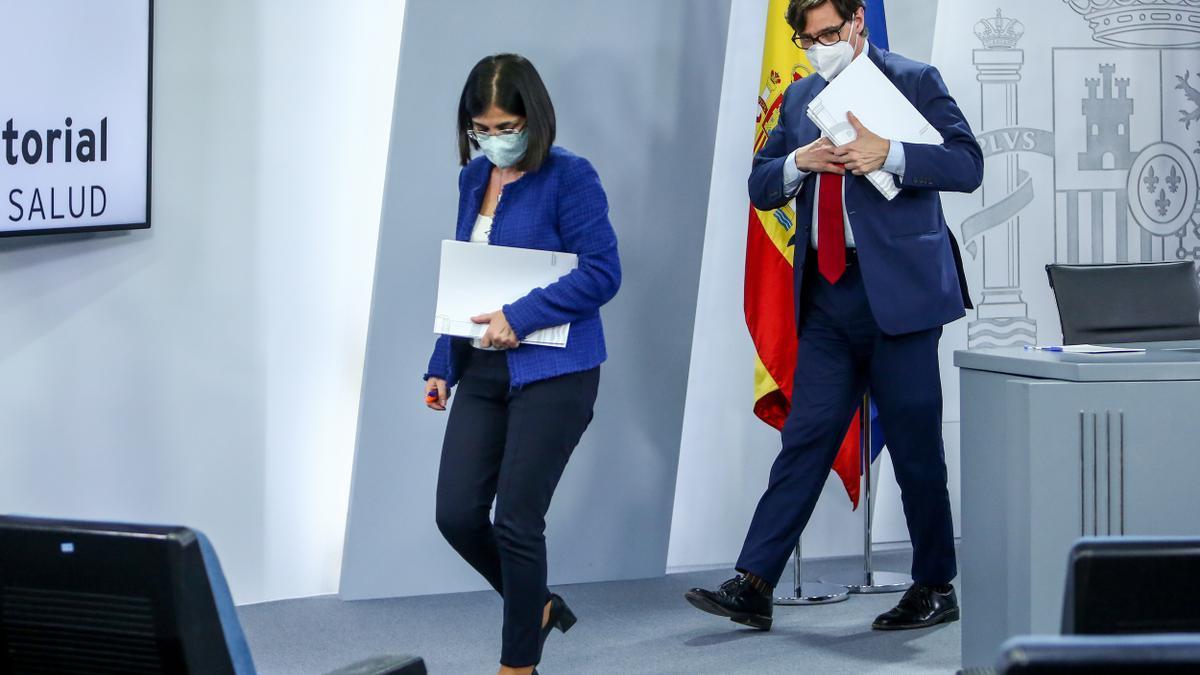 Carolina Darias se perfila como sustituta de Illa en Sanidad y quedaría vacante Política Territorial para Iceta