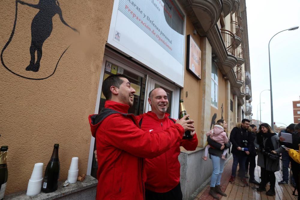 El propietario de la escuela de judo seiza en Salamanca ha repartido parte del Gordo.