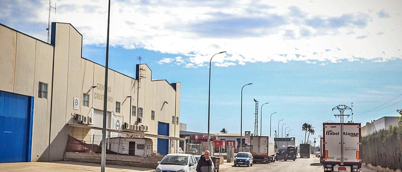 Polígono Industrial Puente Alto de Orihuela, en una imagen de archivo.