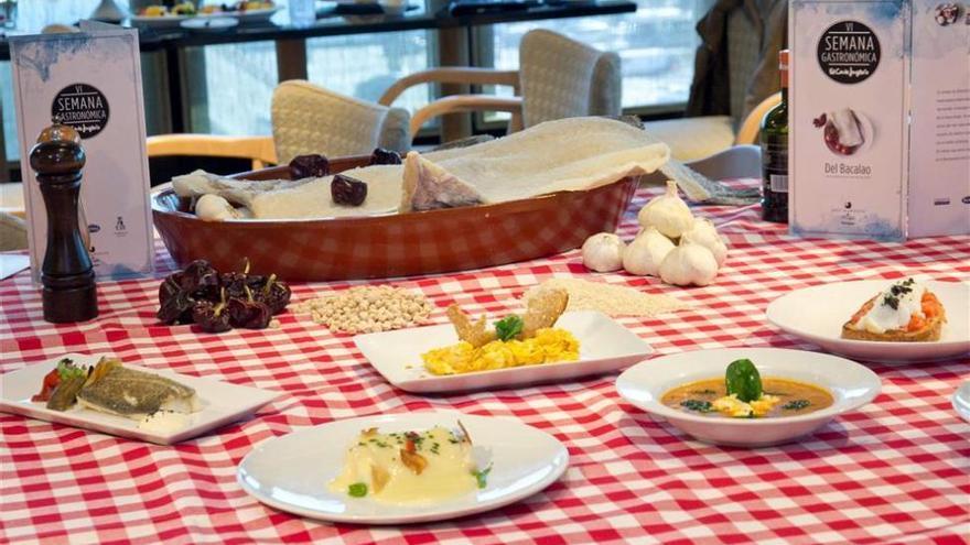 El Corte Inglés de Castellón acoge la Semana Gastronómica del Bacalao