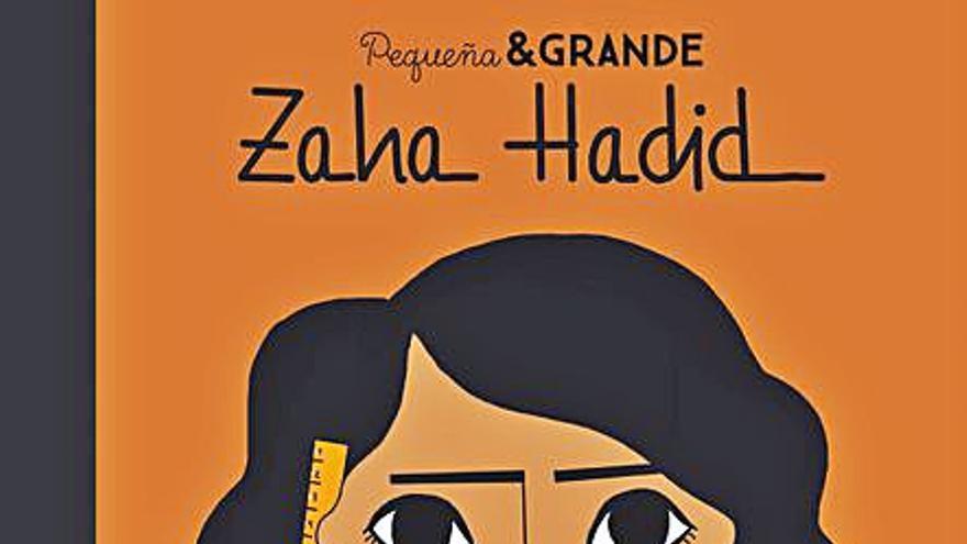La arquitecta Zaha Hadid protagoniza  la nueva entrega de 'Pequeña & Grande'
