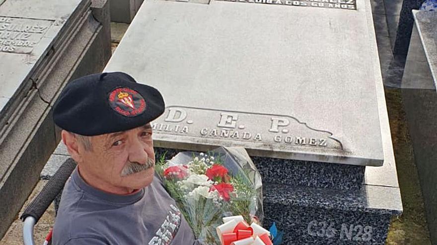 Homenaje en La Carriona a Quini, que ayer hubiese cumplido 72 años