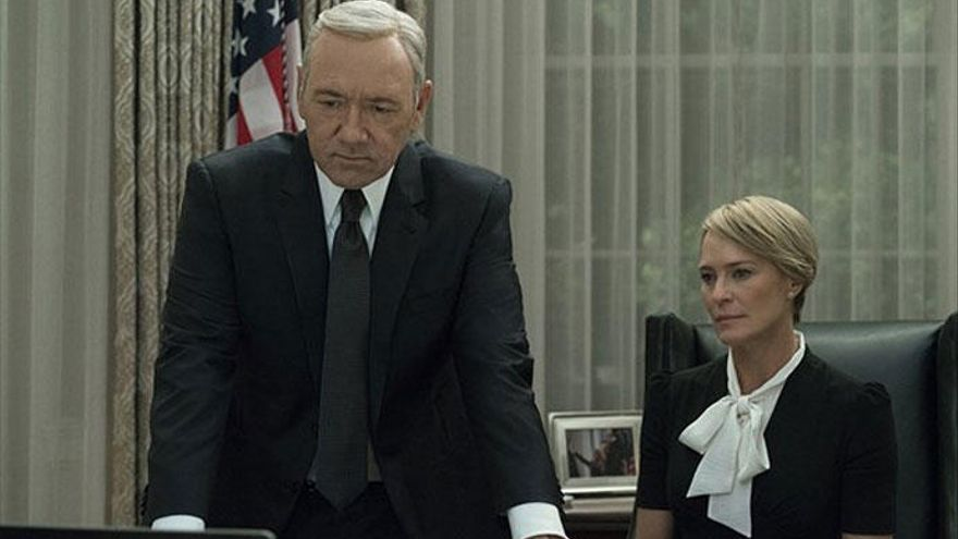 Netflix planea varios spin-off de 'House of Cards'