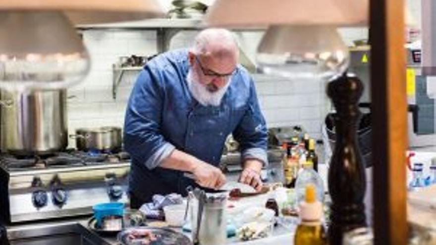 La cocina con chispa de Pablo Caballero en la Antxoeta
