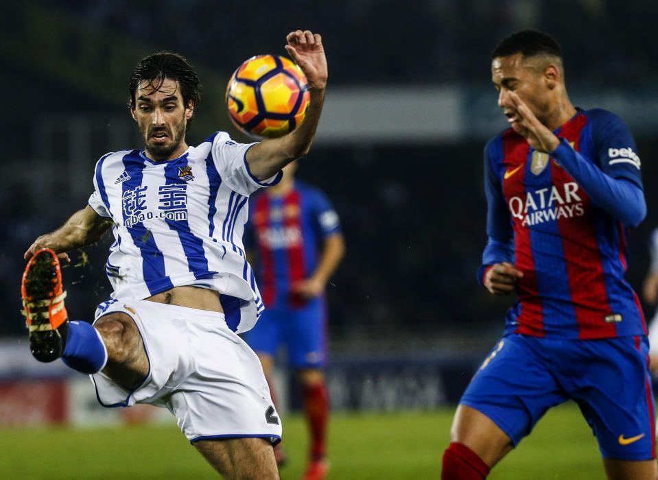Liga: Real Sociedad - Barcelona