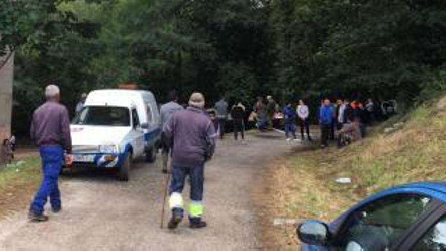 Encuentran un cadáver en la zona de El Rabote, donde se busca al joven desaparecido tras las fiestas de Porcía