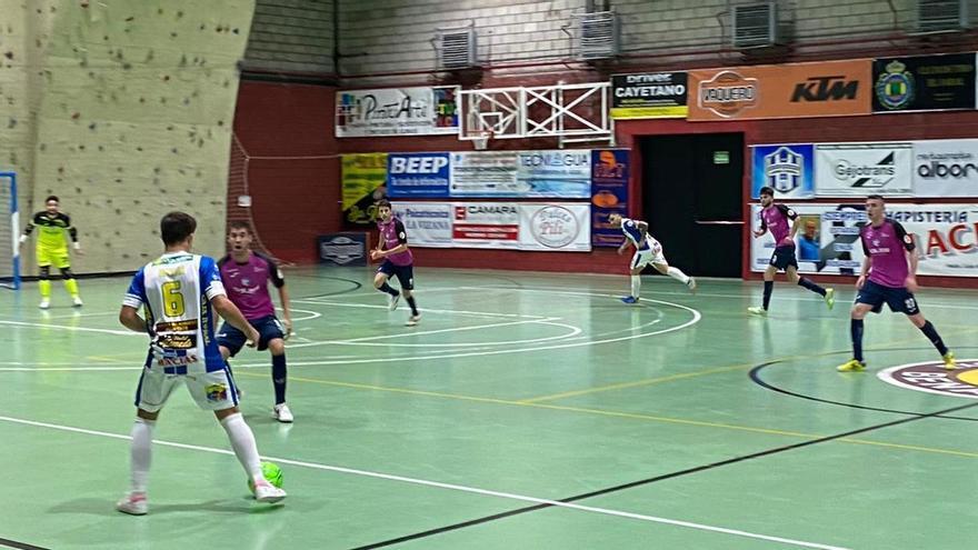 El partido aplazado entre Atlético Benavente y Santiago Futsal se jugará el 3 de enero