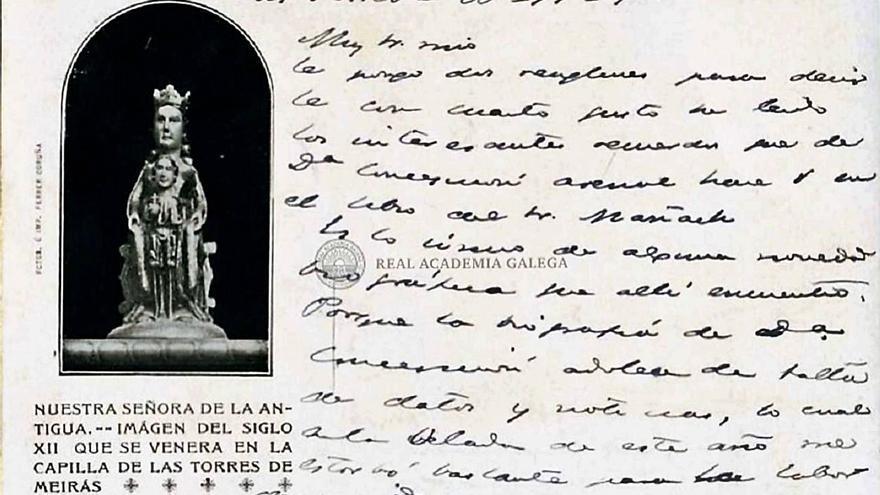 """Pardo Bazán dejó su huella en Meirás """"para cuando la visiten los curiosos del año 2000"""""""