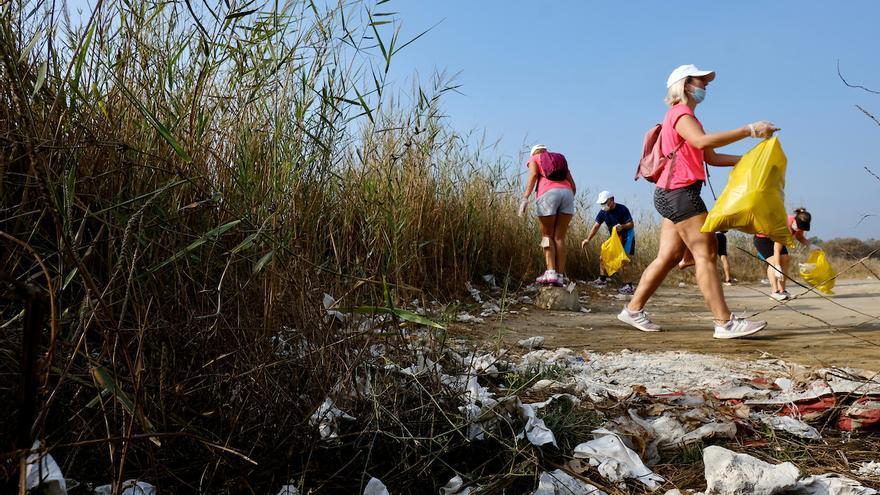 Green Run retira más de 700 kilos de basura en Guadalmar
