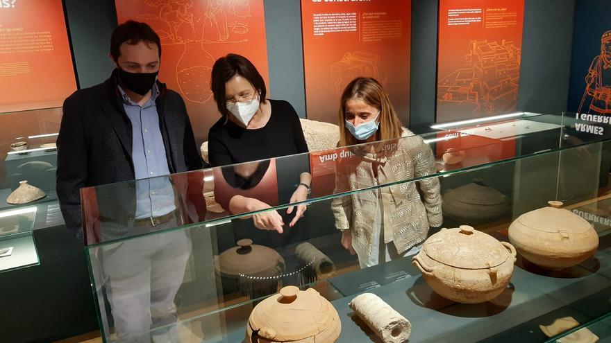 Benicarló inaugura la exposición 'Tierra de íberos' en el Mucbe