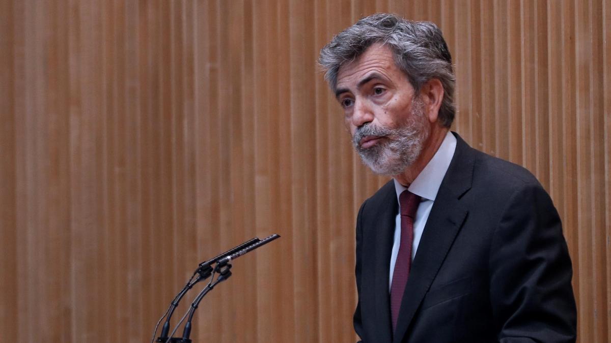 Carlos Lesmes, presidente del CGPJ.