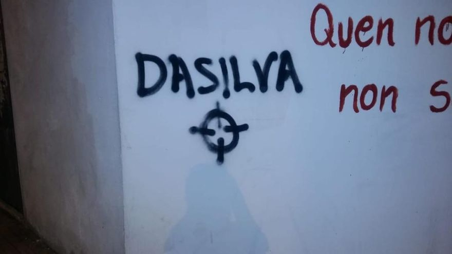 "Da Silva: ""Las pintadas amenazantes son de enorme gravedad"""
